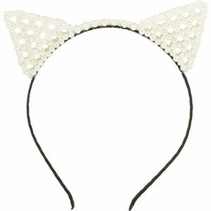 Charlotte Russe Pearl Cat Ears Headband